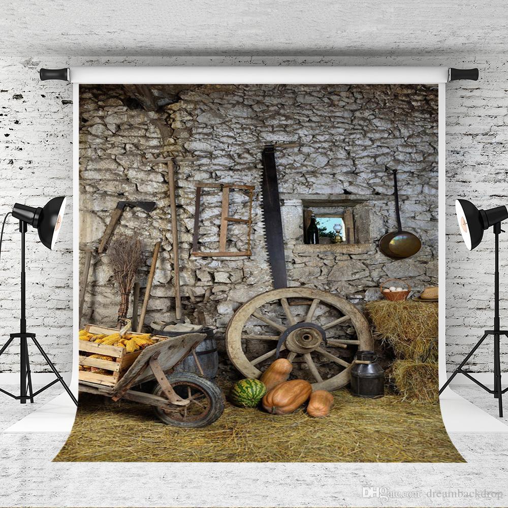Toile de fond Thanksgiving de rêve pour la photographie, automne, récolte, saison, fond, photographie, photographe, ferme, outil, shoot, studio, décors