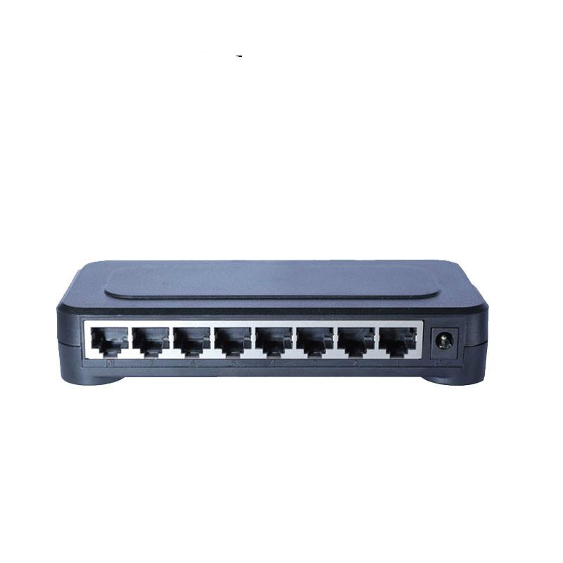 Interruptor novo do Ethernet do Desktop RJ45 do interruptor RJ45 do Ethernet do interruptor do gigabit do porto do modelo 8 do OEM 10/100/1000mbps Interruptor do cubo de Lan 8 portas