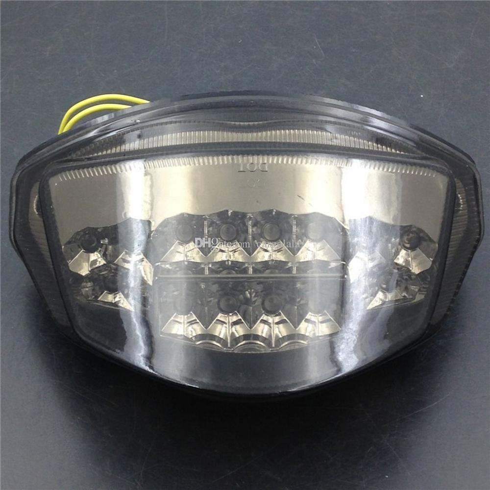 Suzuki GSXR1000 2007-2008 K7 Için duman Motosiklet LED Arka Işık Sinyali ışığı