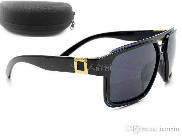 العالم الشهير العلامة التجارية الصيف امرأة الدراجات نظارات مع صندوق حالة القماش رجل ركوب القيادة نظارات الرياح مرآة بارد نظارات الشمس شحن مجاني