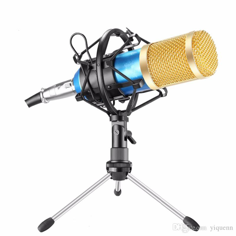 BM800 kondensator kalaok mikrofon weizenband stoßfest rahmenradio singen aufnahme KTV mobile computer universal geschenk