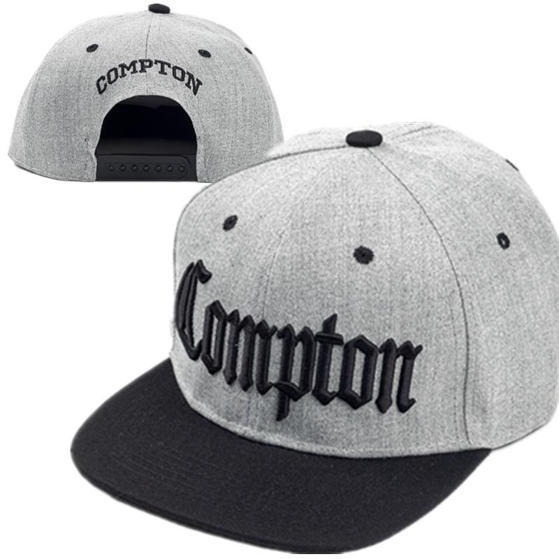 2018 yeni Compton nakış beyzbol Şapkalar Moda ayarlanabilir Pamuk Erkekler Traker Şapka Kadın Şapkalar hop snapback Cap Yaz Caps