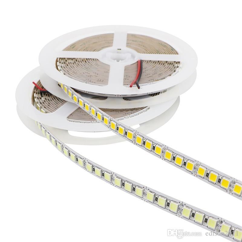 Edison2011 5M/Lot 5054 LED Strip Light 120LEDs/M Non Waterproof 12V 600 Led Stripe Flexible LED Ribbon Tape Lamp