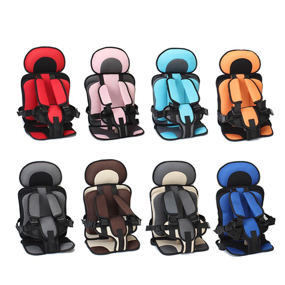 Asiento de seguridad para bebés Asiento de seguridad portátil Asiento de seguridad para bebés Sillas para niños Versión actualizada Engrosamiento Esponja Niños Coche Cochecito Asientos Cojín