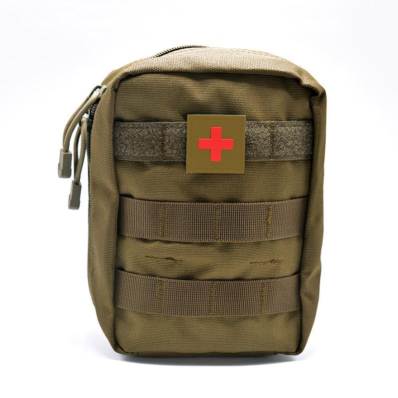 Mini bolsa de viajes Kit de primeros auxilios Survie Portable Survival Tactical Emergencia Bolsa de primeros auxilios Kit Militar Médico Paquete Quick
