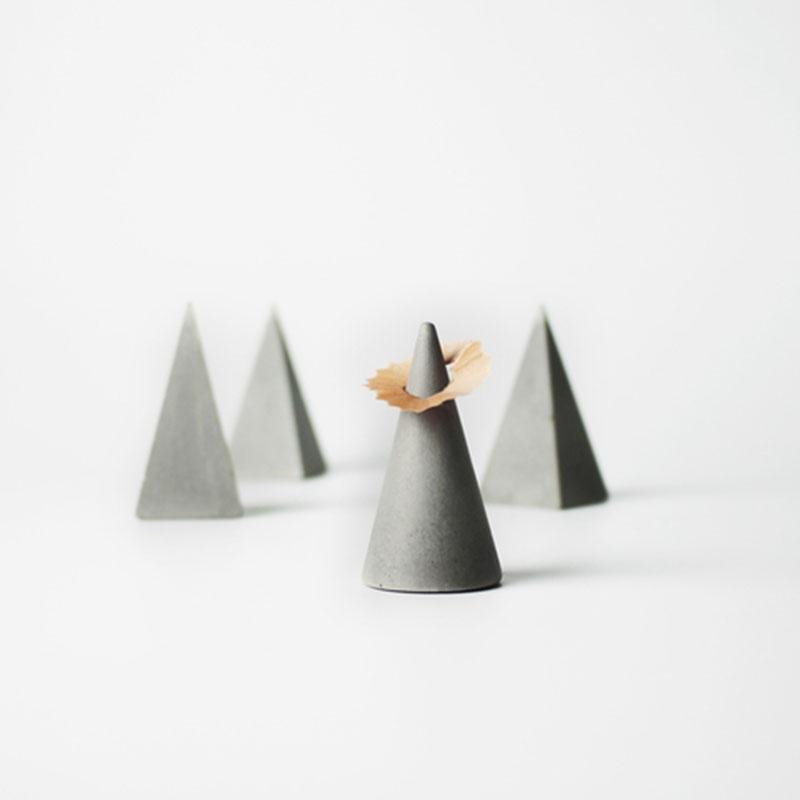 stampi in silicone a cono stampi a blocchi tridimensionali stampo per porta anelli