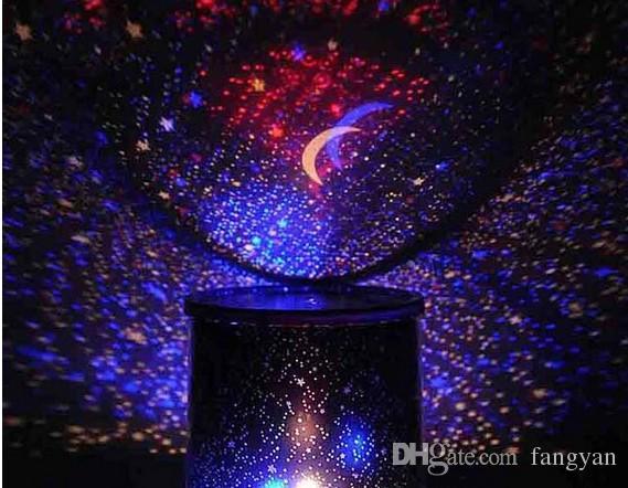 Estrela projetor lâmpada de música rotativa estrela LEVOU iraquiano projetor colorido luz da noite sono lâmpada presentes criativos