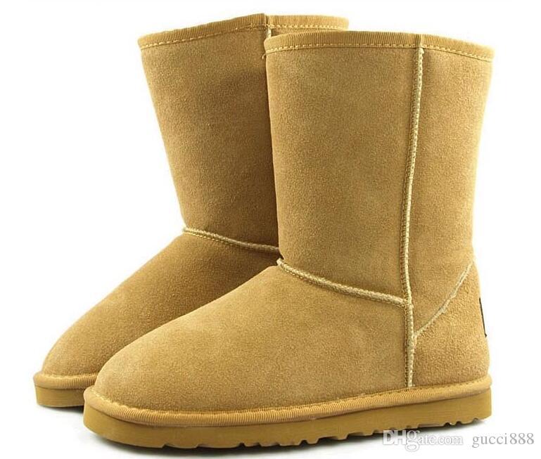Дорп доставка зима новая Австралия классический снег сапоги A + + + качество дешевые женщины человек зимние сапоги мода скидка ботильоны обувь размер 5-13