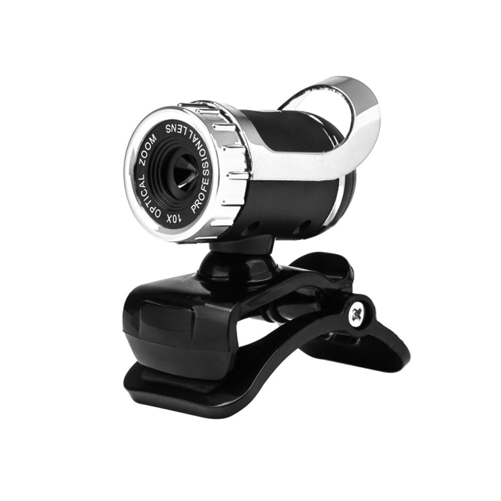 ET HD Camera 12 Megapixel Web Camera USB 2.0 Mini Camera with Microphone for Computer PC Laptop 360 Degree Rotatable Cam Webcam