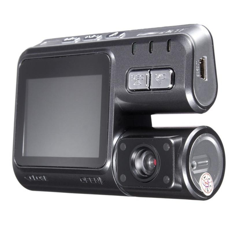 2 inch Portable Car Vehicle Camera DVR HD 720P Dual Lens Dash Cam Video Recorder