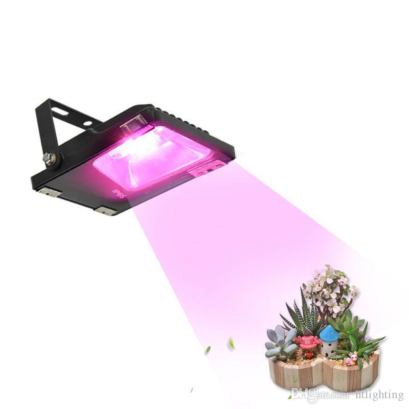20W LED 홍수 식물 성장 빛 실내 전체 스펙트럼 온실 수경 식물성 꽃 식물 성장 램프 조명