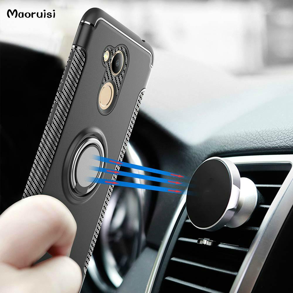 Compre Caso Híbrido Para Huawei Honor 6c Pro 5 2 Titular Magnética Do Carro à Prova De Choque Capa Para Huawei Honor V9 Play Phone Cases Tampa Traseira De Liguimei0406 26 63 Pt Dhgate Com