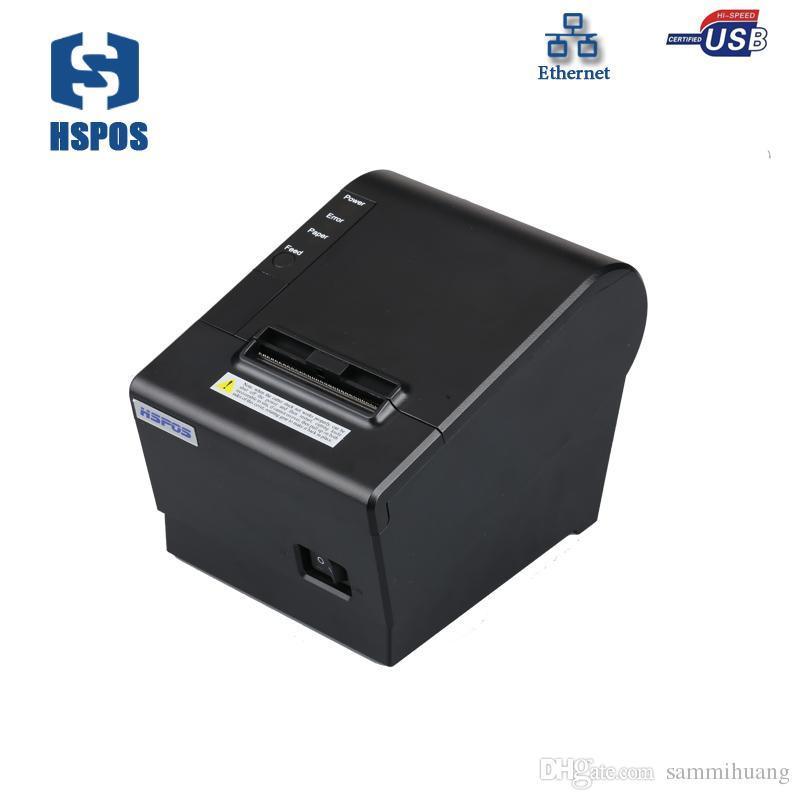 impressoras de recibos térmica 58 milímetros USB LAN interface de impressão de baixo ruído de alta velocidade adequada para todos os tipos de sistemas de POS comercial HS-K58UL