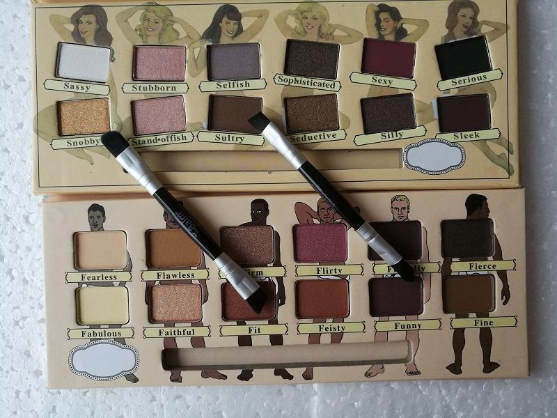 Donne i 12 colori Beauty Makeup Balm Nude Dude Vol. 2 ombres a paupieres nue Ombretto Tavolozza Ombretto cosmetici