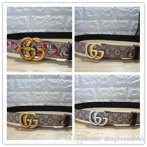 Cintura uomo vendita calda Cintura uomo Cintura alta qualità Cintura uomo in vera pelle per cinturino serpente
