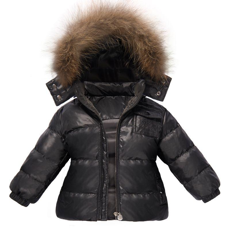 Ternos de inverno para meninasRoupa Boys fit -15 Graus Crianças Terno De Esqui Snowsuit 2 pcs Set Down Jacket Jumpsuit Crianças Roupas Set