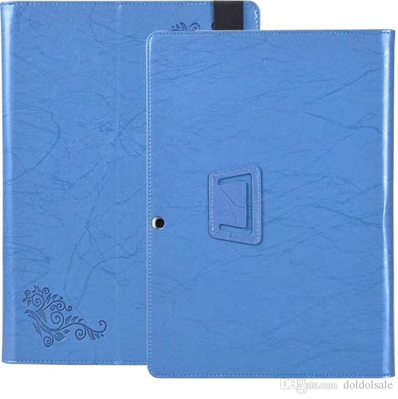 레노버 Miix 520 / Miix 510 태블릿 핸드 스트랩 + 클리어 스크린 프로텍터가있는 꽃 PU 가죽 커버 (스탠드 포함) 인쇄