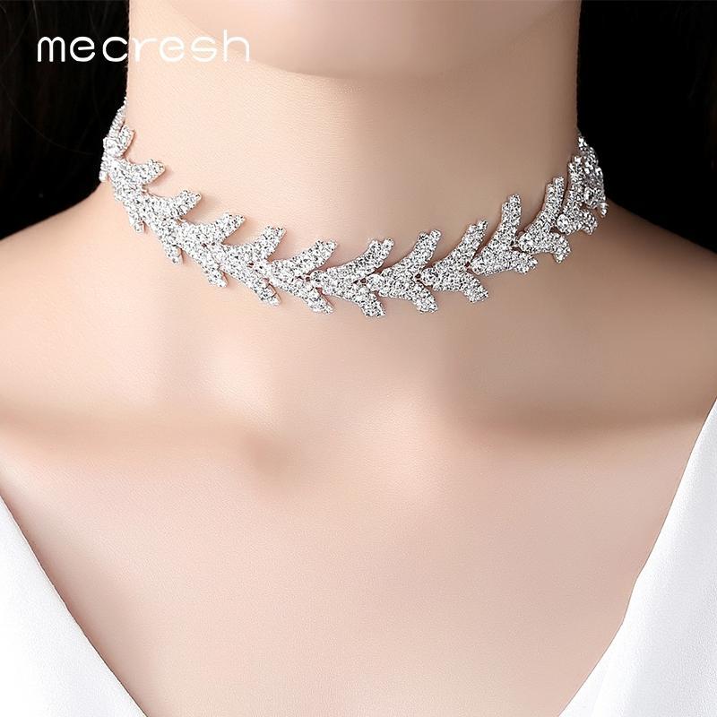 Silver colour diamante embellished choker rhinestone choker sparkle party choker