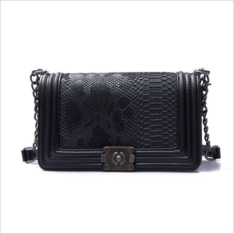 Геометрические модные сумки роскошные Crossbody кожаные сумки женщины новая цепь дизайнерские сумки PU серпантина мешок на плечо EDMRM