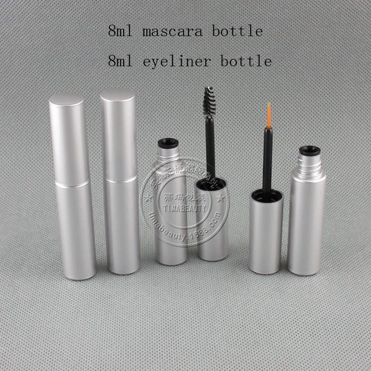 8ml silver bottle
