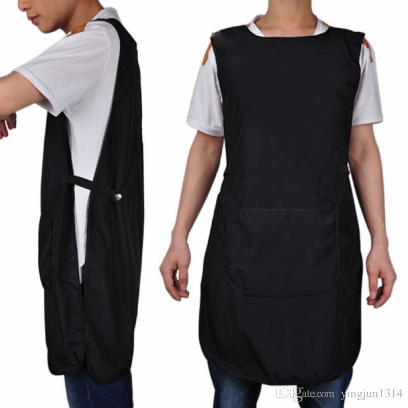 Super Quality Salon Hairdressing Hair Cutting Apron Front-Back Cape for Barber Hairstylist Styling Cloth free shipping
