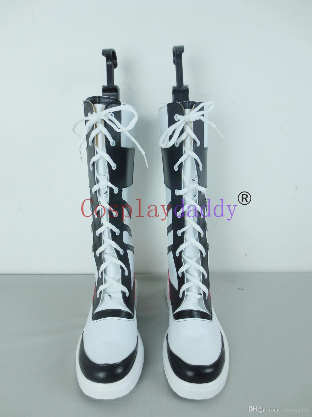 Großhandel Selbstmord Squad Harley Quinn Mädchen Halloween Cosplay Schuhe Stiefel X002 Von Lisacosplay, $56.86 Auf De.Dhgate.Com | Dhgate