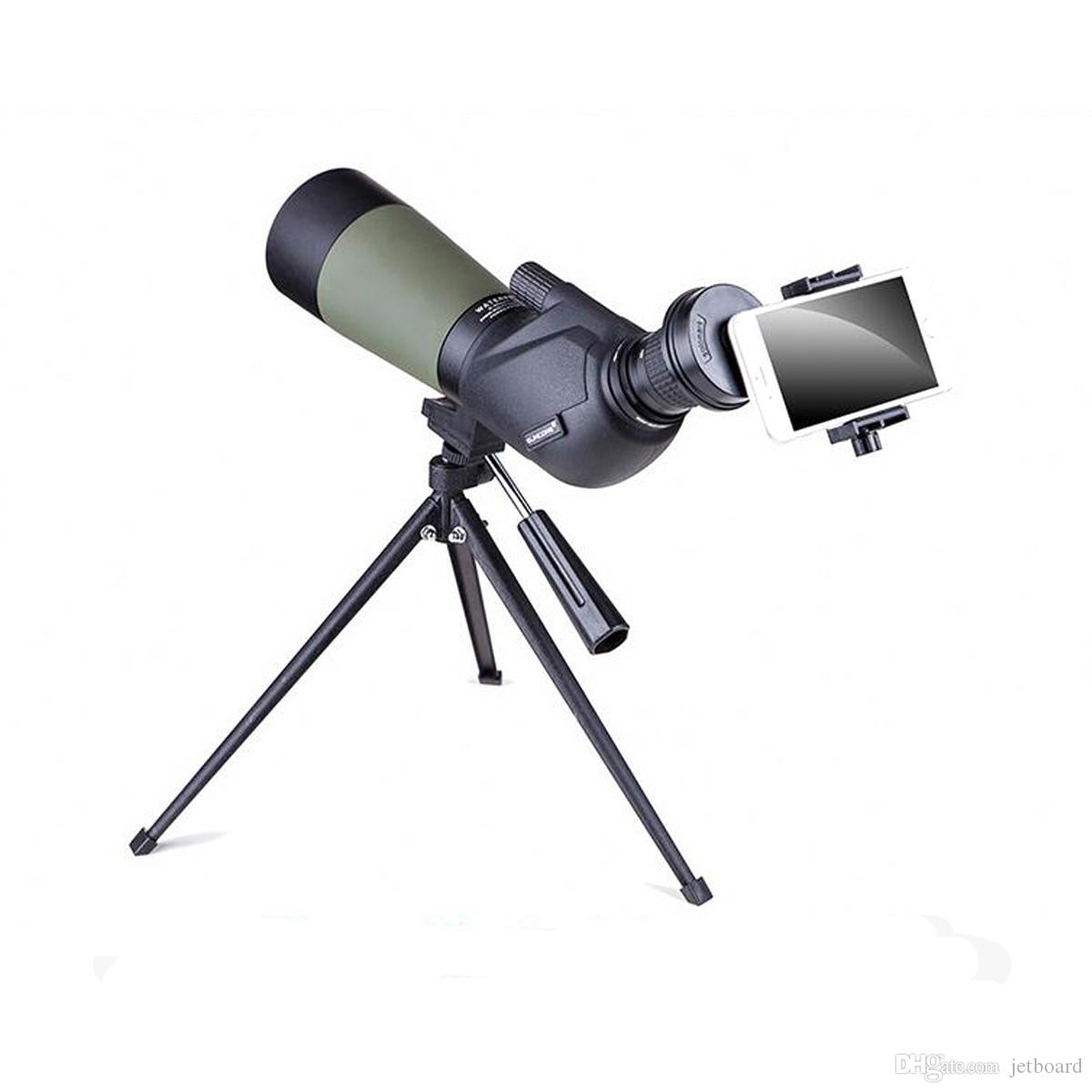 15-45X60S Telescópio Monocular HD Lente Óptica Zoom Bird Watching Alta Definição Ver Ocular spotting scope birdwatching scope