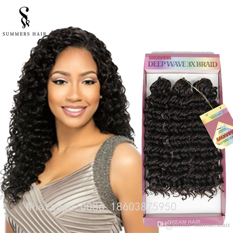 2020 Pack Pre Curled 3x Savanna Crochet Braids Hair Extension Stress Free Curly Braiding Hair Style For African Women From Summershair 16 99 Dhgate Com