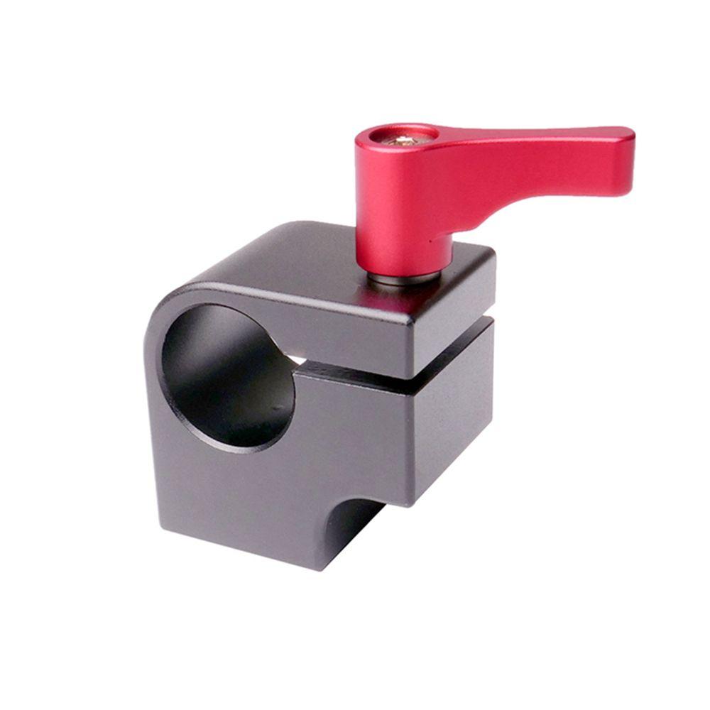 """Professionnel 1/4 """"système de rail de support de bâti de bâti de tige de Rod 15mm de rail de bloc de rail de bâti de fil suivent l'installation de moniteur de bras magique"""