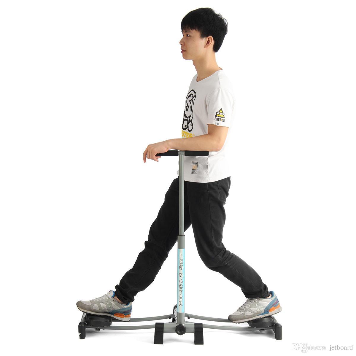 المنزل باستخدام طوي المنزلق معدات التخسيس الساق ممارسة آلة الساق ماجيك ماستر القلب ممارسة اللياقة البدنية السائر رياضة مدرب البطن