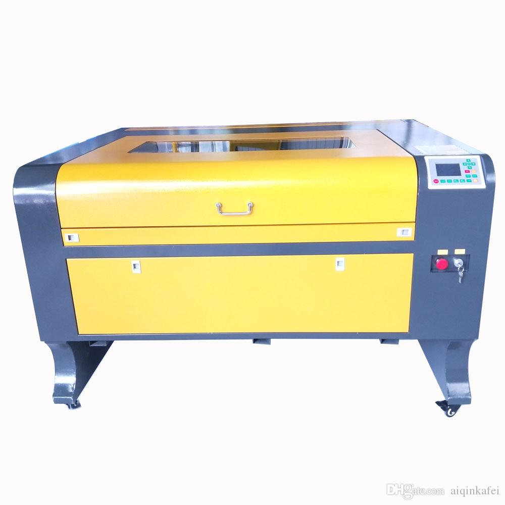 TS1080 ruida 6442s laser engraver cutter water chiller cw3000 laser engraving cutting machine with Reci 100w M2 tube free shipping by sea