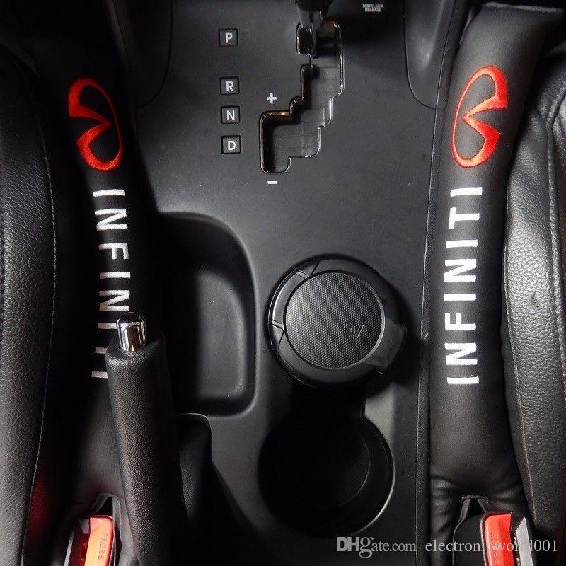 2x PU Koltuk Çatlak Boşluğu Pad Dolgu Stoper Infiniti Q50 Q70 için Spacer Sızdırmaz