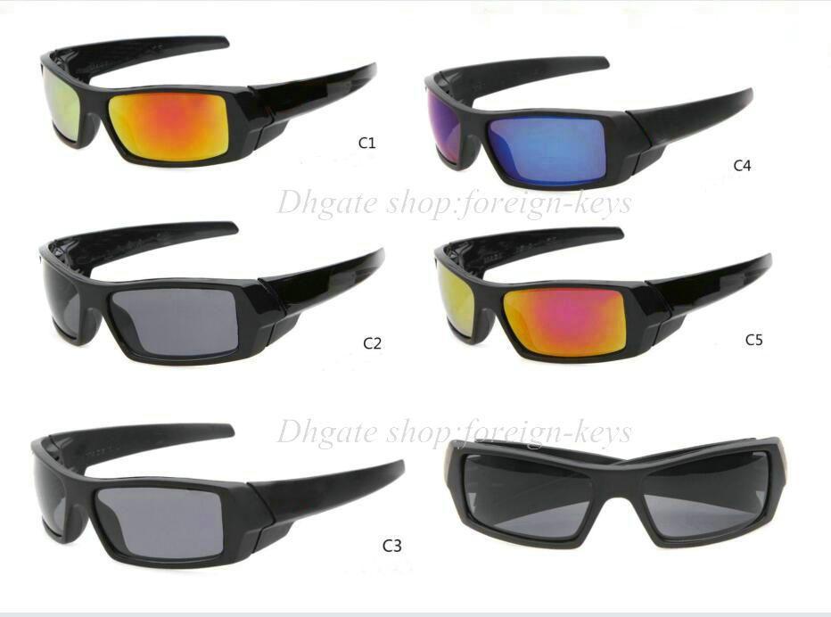Freies Verschiffen neue Farbe für die Sunglass Sport-Sonnenbrille Google-Gläser der Männer mischen Farbe 10pcs / lot