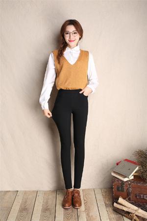 İlkbahar Sonbahar Lmitation Kot Pantolon Kadın Elastik Bel Pantolon Bayanlar Vintage Kalem İnce Skinny Jeans 3 Renkler Ücretsiz Kargo