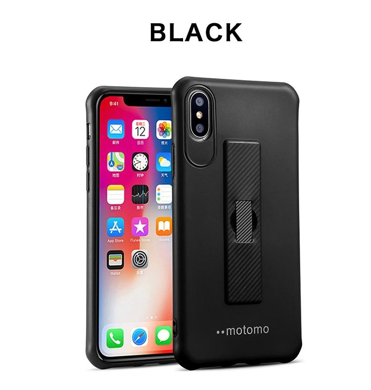 For New Iphone Soft TPU 3 In One Cell Phone Cases Cover For iPhone XS MAX With Contractile Bracket Ring Free Shipping