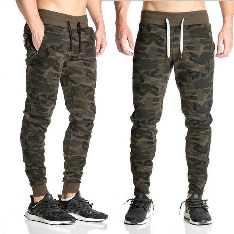 2019 Autumn Mens Jogger Pencil Pants Men Camouflage Harem Pants Loose Comfortable Trousers Camo Men's Cargo Pants M-XXL free shipping