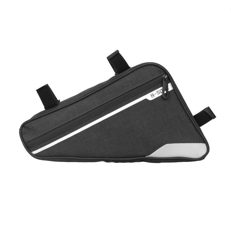 High Quality Bicycle e Bag Beam Waterproof Upper Tube Saddle Bag Mountain Road Bike Riding Large Capacity