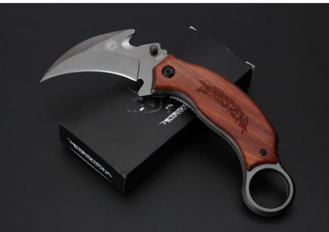 새로운 공룡 X52 발톱 칼 전술 사냥 칼 멀티 도구 포켓 생존 고정 칼 선물 칼 1PCS