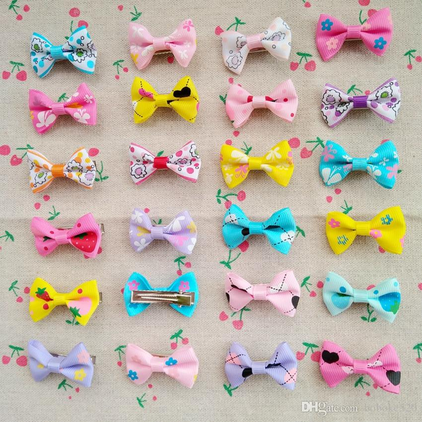 20-100Psc Butterfly Hair Clips Girls kids baby cute Barrettes Hair Accessories