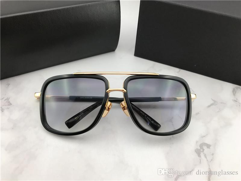Paket Ücretsiz Kargo Güneş Gözlükleri Güneş gözlüğü 2018 Yeni Yaz NUMD180621-7 için olan kadınlar / Erkek Brown için 2018 Güneş Gözlüğü
