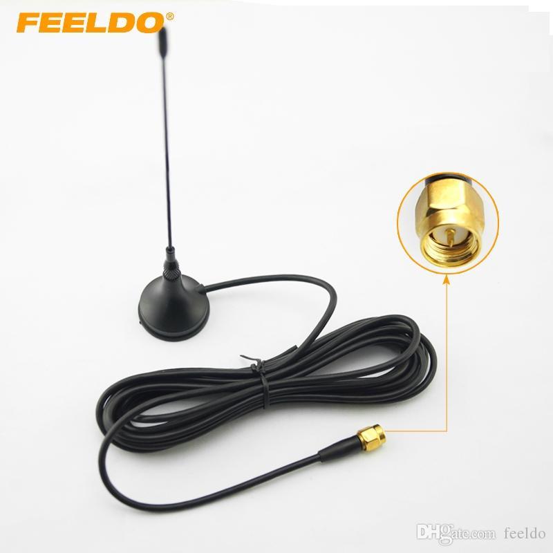 FEELDO Car SMA-Anschluss Aktive Antennenantenne mit eingebautem Verstärker für digitales Fernsehen # 925