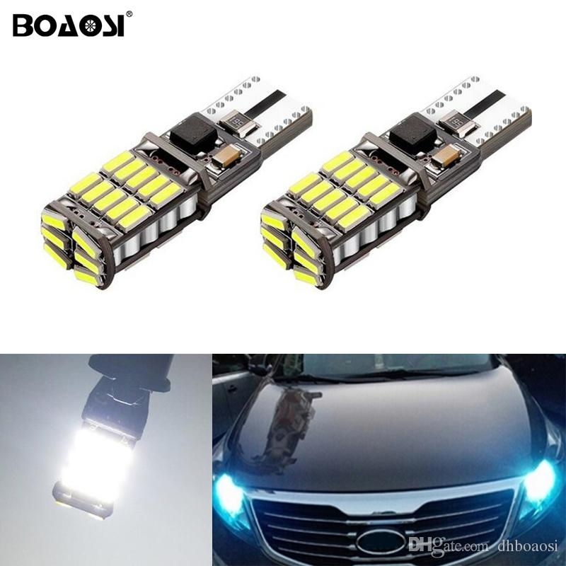 T10 W5W 4014smd LED Clearance Light with Projector Lens For Kia sportage rio k2 k3 k5 ceed cerato sorento
