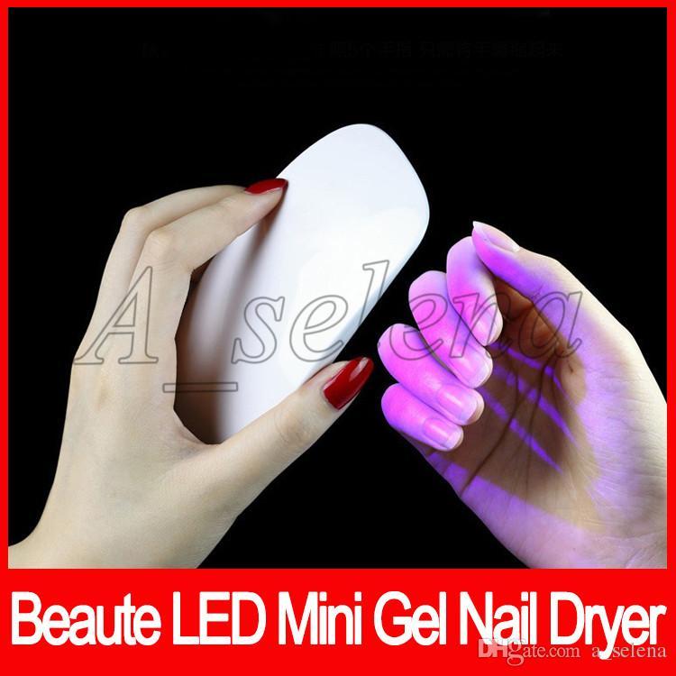 Prego Secador de Gel Unha Polonês Poderoso Lâmpada UV Polonês Unhas de Luz Facial Ferramentas Ferramentas de Cuidados Com Os Pregos Secagem Rápida