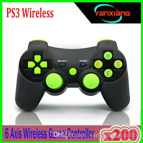 Popular Wireless Bluetooth Game Controller For sony playstation 3 PS3 SIXAXIS Controle Joystick Gamepad 200PCS YX-PS-WW