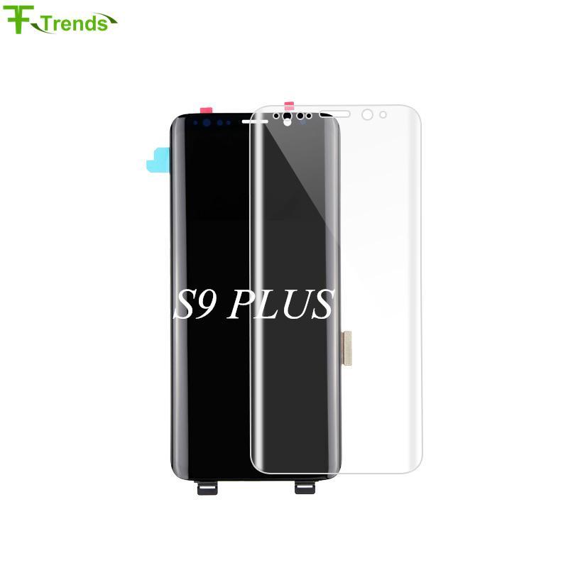 Samsung A + + + Kalite Samsung Galaxy S9 + S9 Artı LCD Ekran Dokunmatik Ekran Digitizer G965 100% Test Ücretsiz Kargo