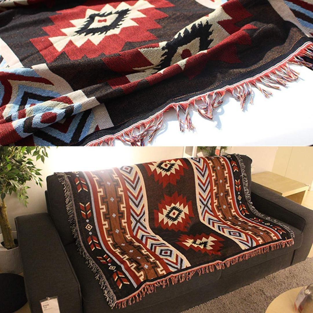 Bed Blankets 130x160cm Aztec Navajo