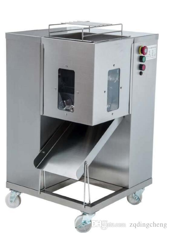 Free shipping 2 Units QSJ-A Model Meat cutter Machine With two Blades Meat cuber For Restaurant Use