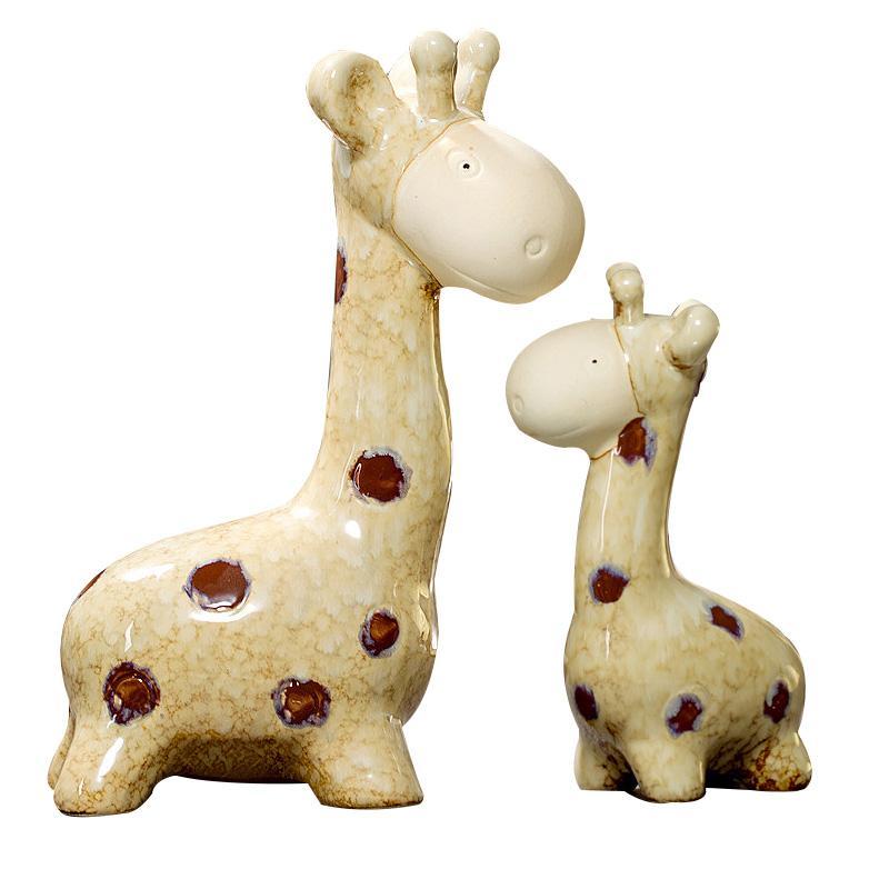 Cute Home Decor Pots Fairy Garden Craft Desktop Ornaments Miniature Resin Figurine Decor Similation Animal