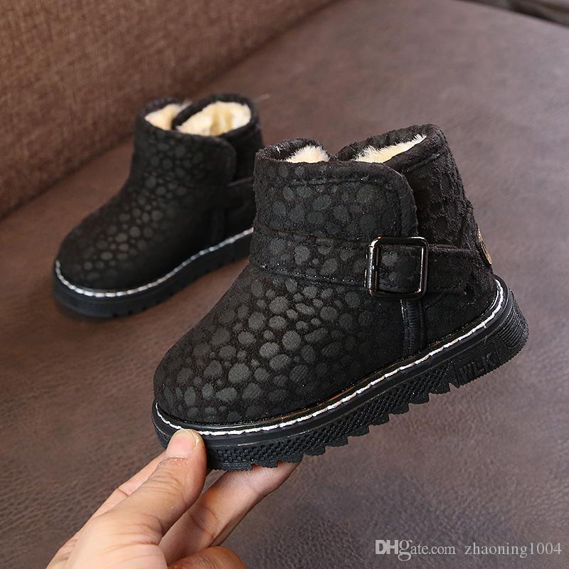 Designer Winter Warm Kids Boots Baby