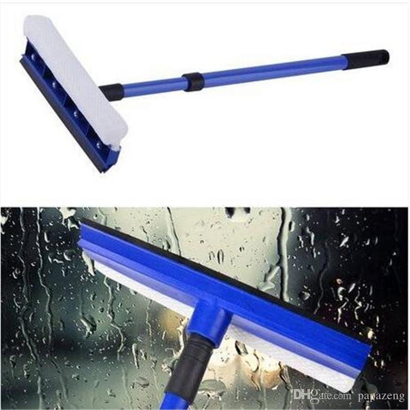 الجملة تنظيف فرش مقبض ضبط الوجهين نافذة الزجاج الأمامي غسل منظف فرشاة تنظيف فرش